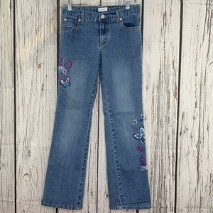 Circo Embroidered Details Girls Jean